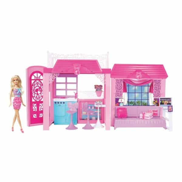 Barbie Pink-tastic Glam Vacation House &Amp; Doll by Unknown