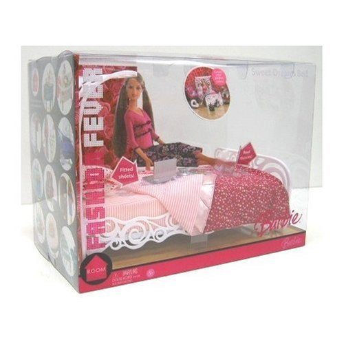 Barbie Fashion Fever Sweet Dreams Bed Barbie Collectibles