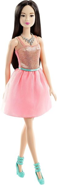 Barbie Glitz Doll, Coral Dress