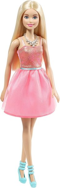 Barbie Glitz Doll, Coral Dress #2