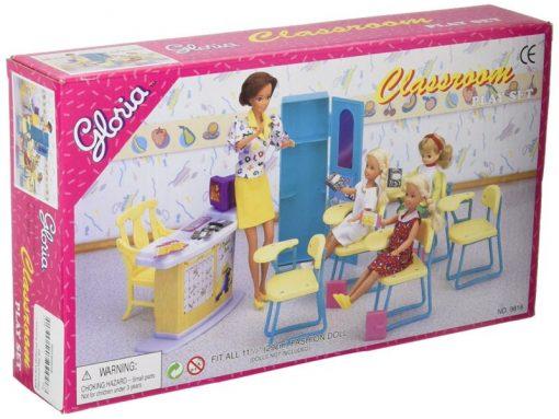 Barbie Size Dollhouse Furniture - Classroom Play Set