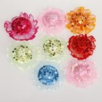 10-Sequins-lace-Summer-Sun-party-Hats-for-BARBIE-DOLL-clothes-Fashion-kawaii