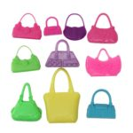 10pcs-Mix-Fashion-Accessories-Handbag-For-Barbie-Doll-Cute-Toy
