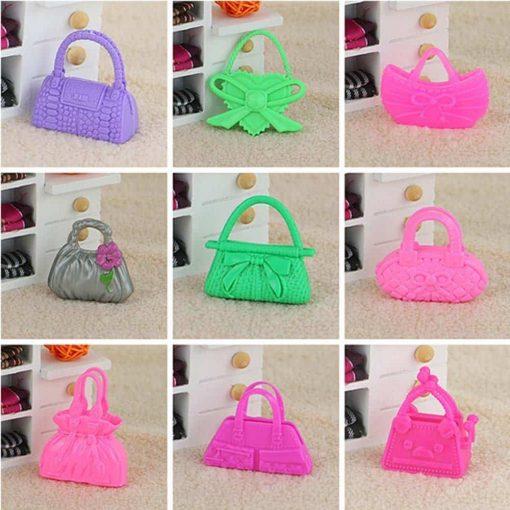 10pcs-Mix-Fashion-Accessories-Handbag-For-Barbie-Doll-Cute-Toy