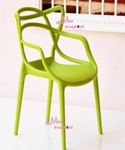 16 Scale Art Decor Plastic Chair Green Color for barbie BJD Doll Dollhouse Miniature