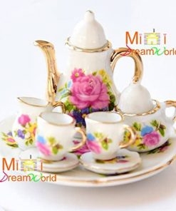 16-Scale-Dollhouse-Miniature-Porcelain-Coffee-Tea-Set-for-Barbie-Blythe-8pcs