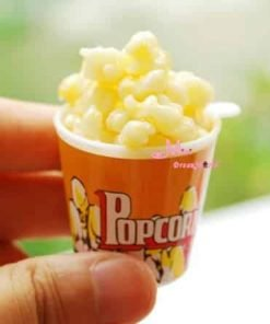 16 scale Barbie Blythe DOLL Dollhouse Miniature A BUCKET OF POPCORN