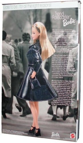 1999 Barbie Collectibles - Clothes Minded Collection - Trend Forecaster Barbie