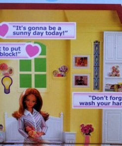 BARBIE-Happy-Family-SOUNDS-LIKE-HOME-SMART-HOUSE-Playset-w-LIGHTS-SOUNDS