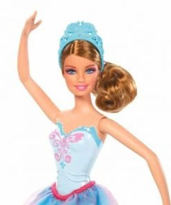 Barbie-Barbie-in-The-Pink-Shoes-Ballerina-Doll-Blue-Dress-imported-goods
