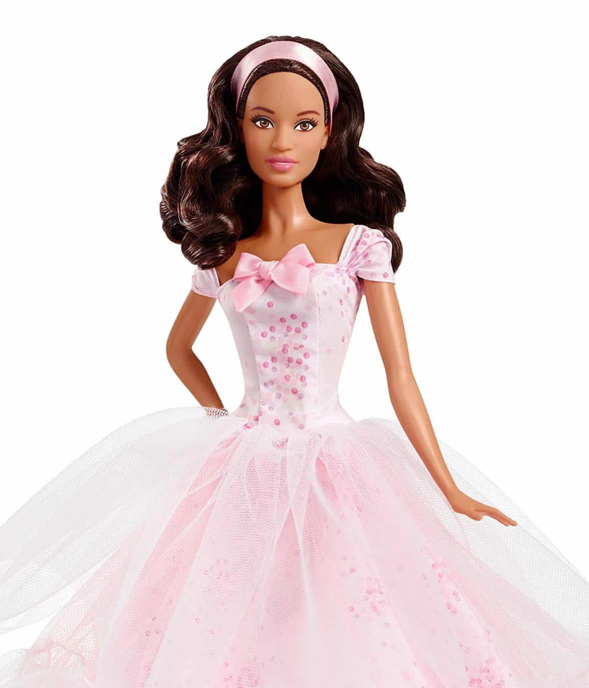 Barbie Birthday Wishes 2016 Doll Dark Brunette
