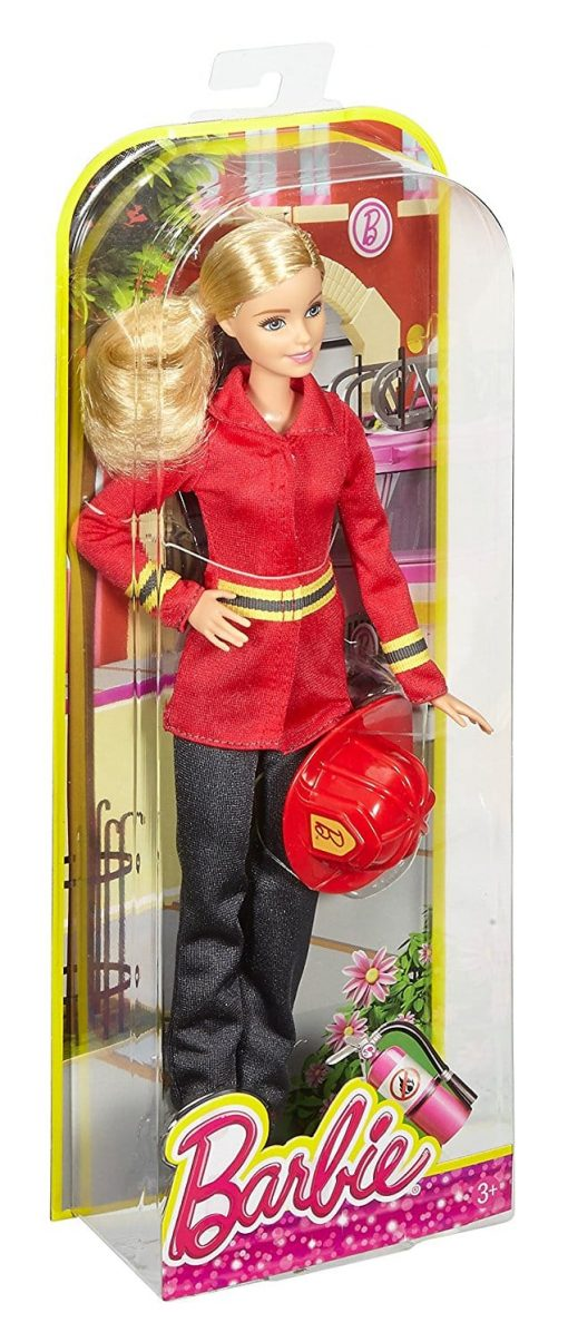 Barbie Careers Firefighter Doll
