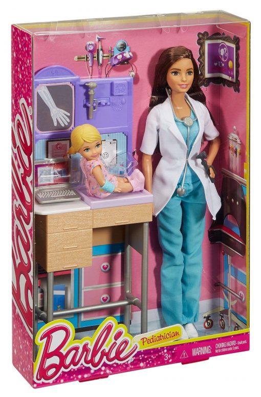 Barbie-Careers-Pediatrician-Playset