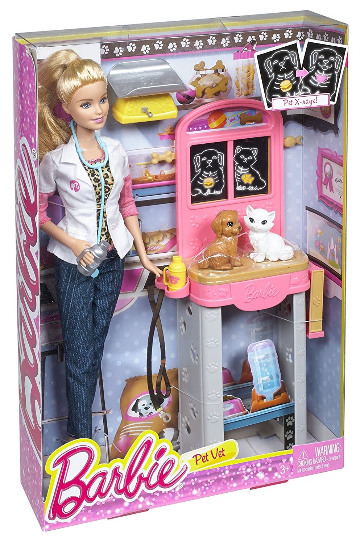 Barbie Careers Pet Vet Doll NEW