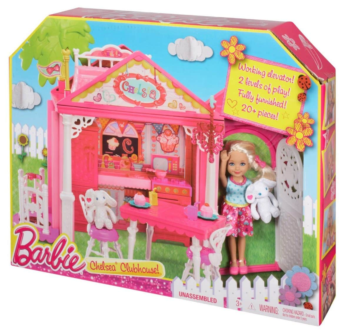 Barbie Chelsea Doll And Clubhouse Playset Barbie