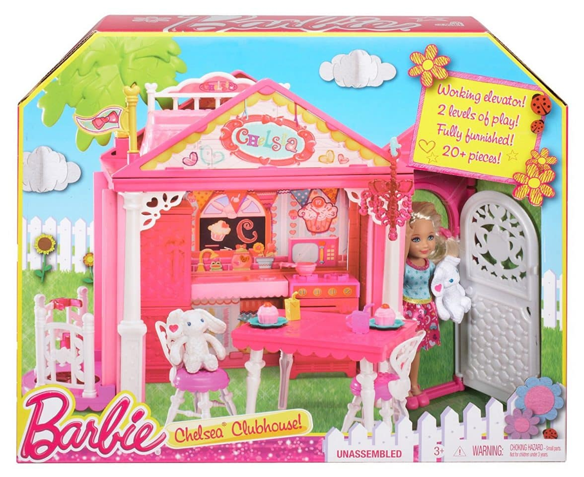 Barbie chelsea doll and clubhouse playset barbie collectibles barbie chelsea doll and clubhouse playset publicscrutiny Choice Image