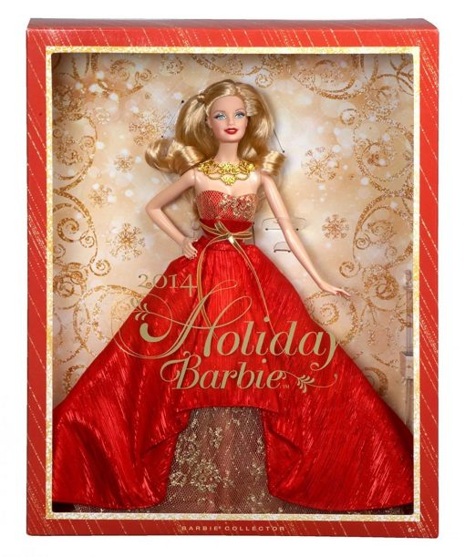Barbie-Collector-2014-Holiday-Doll