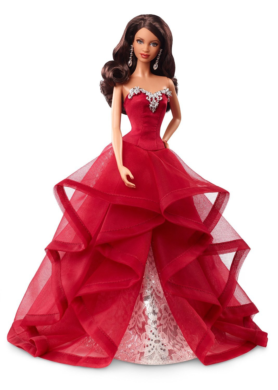 Barbie Collector 2015 Holiday African-American Doll ...