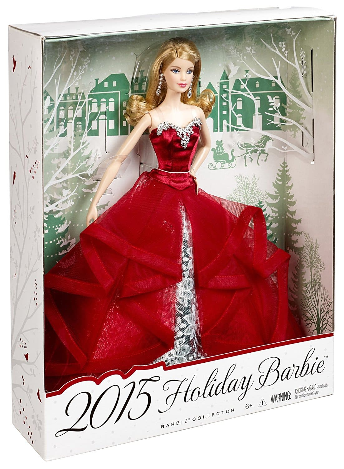 Barbie collector 2015 holiday caucasian doll barbie collectibles - Barbie barbie barbie barbie barbie ...