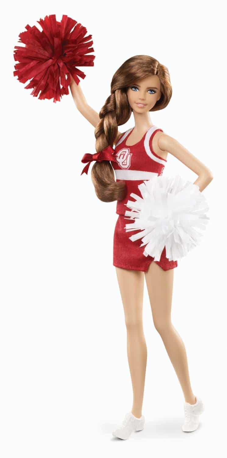 Barbie Collector University Of Oklahoma Doll Barbie