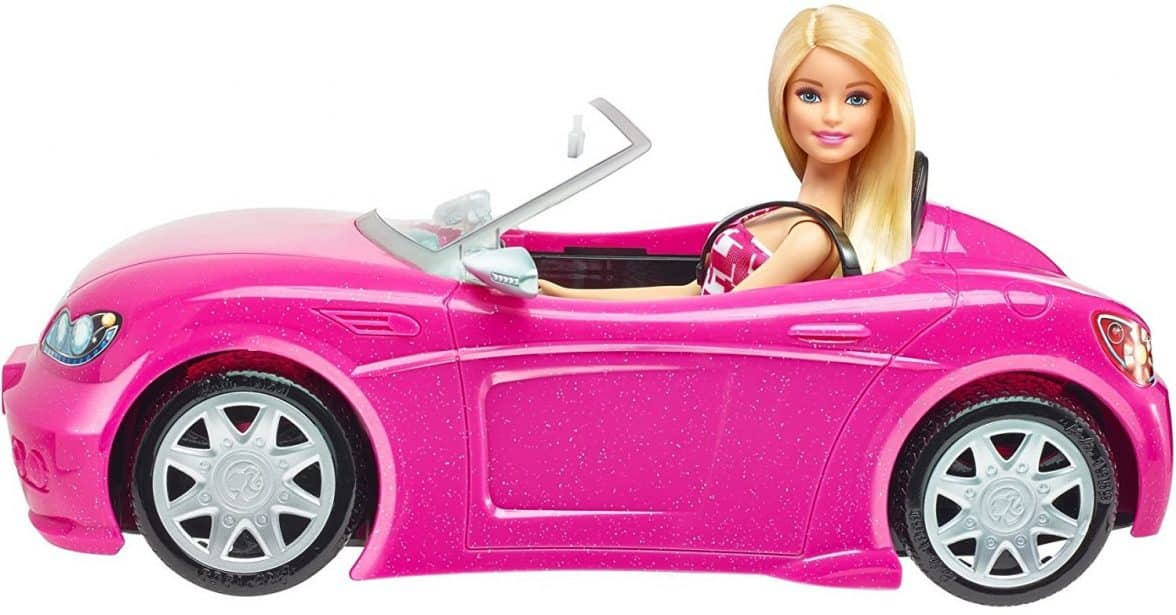 Barbie Convertible And Doll Pack Barbie Collectibles