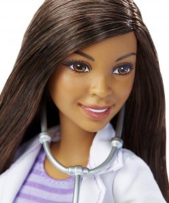 Barbie-DHB19-Careers-Veterinarian-Doll-African-American