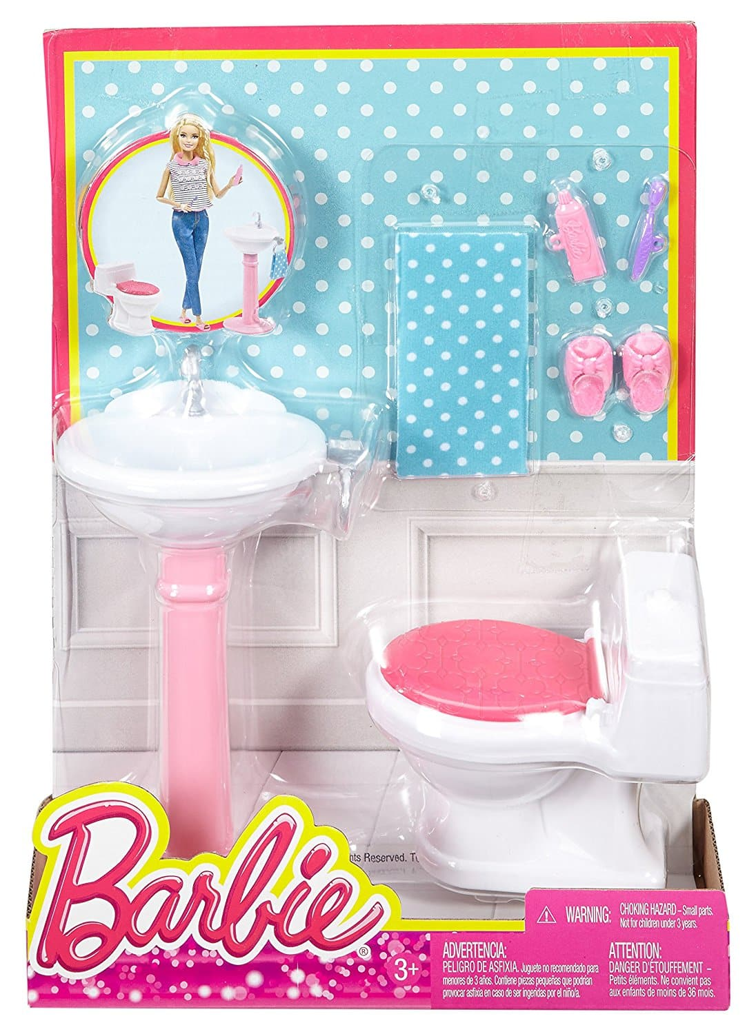 Debt Collection Agency >> Barbie Dream Bathroom Playset - Barbie Collectibles