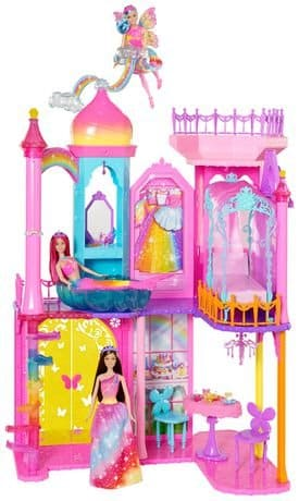 Barbie-Dreamtopia-Rainbow-Cove-House-and-Doll-Set.-Great-for-Barbie-Princess-Dolls