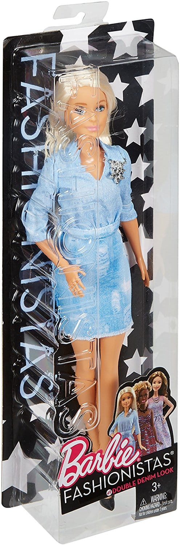 Barbie Fashionistas 49 Double Denim Look Doll