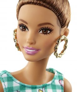 Barbie Fashionistas 50 Emerald Check Doll