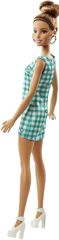 Barbie Fashionistas 50 Emerald Check Doll