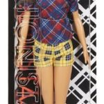 Barbie Fashionistas 52 Plaid on Plaid Doll