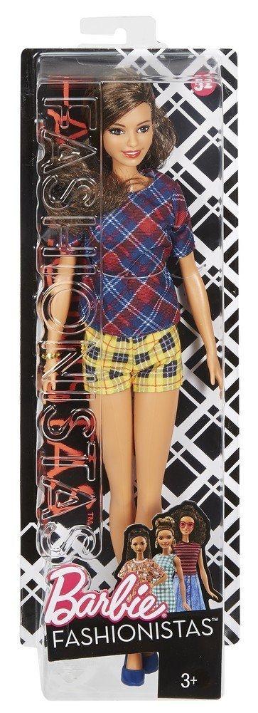 Barbie Fashionistas 52 Plaid on Plaid Doll