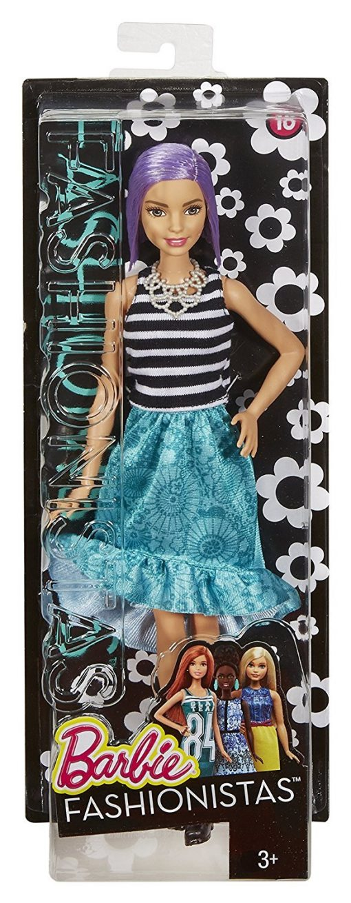 Barbie Fashionistas Doll 18 Va-Va-Violet