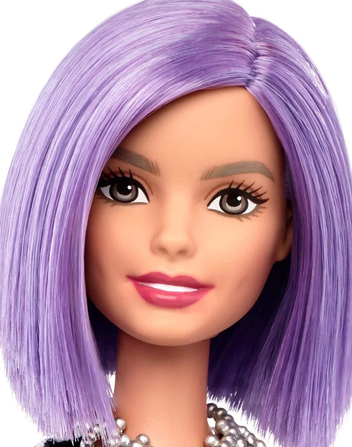 Barbie Fashionistas Doll with Purple Hair