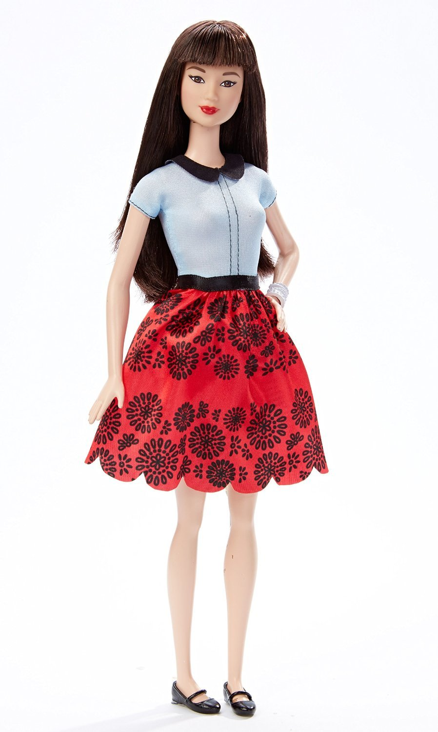 The Fashionomist The Hemline Index: Barbie Fashionistas Doll 19 Ruby Red Floral