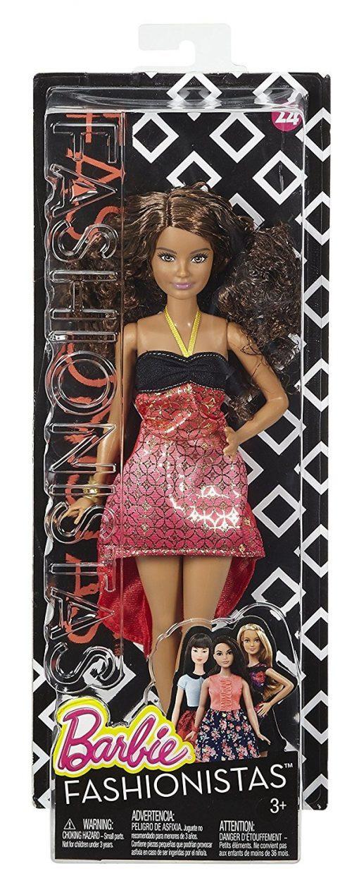 Barbie Fashionistas Doll 24 Crazy For Coral - Petite