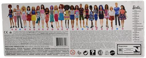 Barbie Fashionistas Doll 25 Blue Brocade