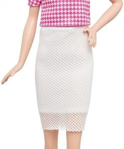 Barbie Fashionistas Doll 30 White & Pink Pizzazz - Tall