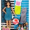 Barbie Fashionistas Doll & Fashions So Sporty, Curvy Dark-Haired