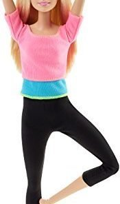 Barbie Made to Move Doll Pink Top DHL82