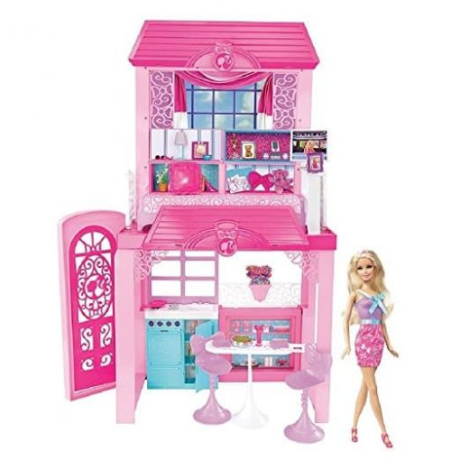 Barbie-Pink-Tastic-Glam-Vacation-House-Doll-Exclusive-Set