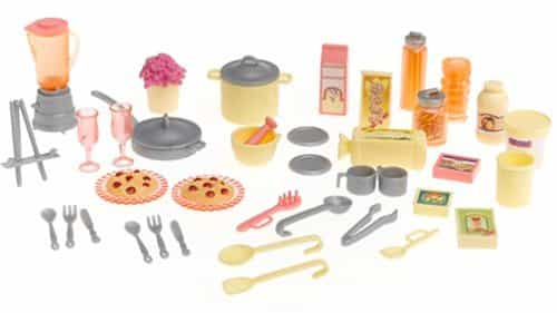 Barbie Play All Day Kitchen Set With Doll Barbie Collectibles