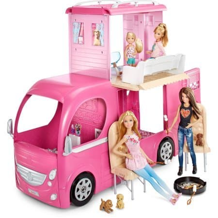 Barbie Pop Up Camper Vehicle When Road Ready It S