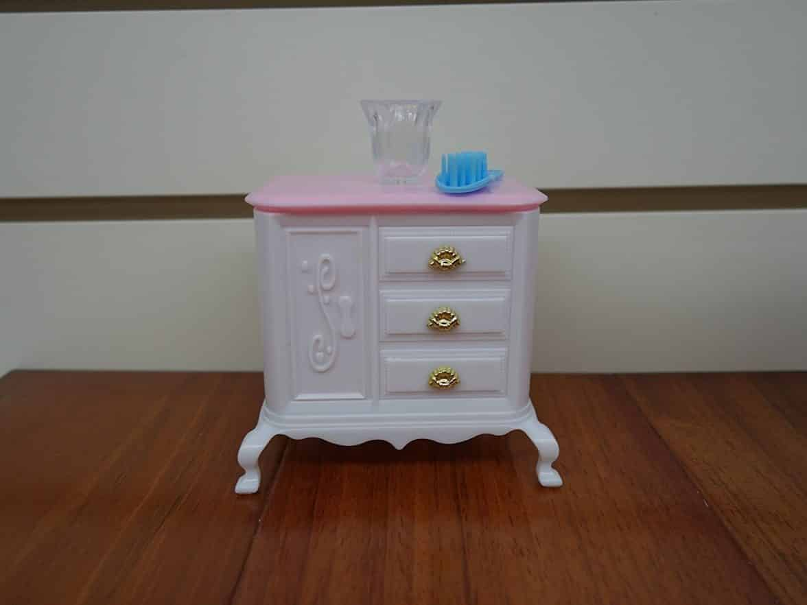 Strange Barbie Size Dollhouse Furniture Bed Room Beauty Play Set Bralicious Painted Fabric Chair Ideas Braliciousco