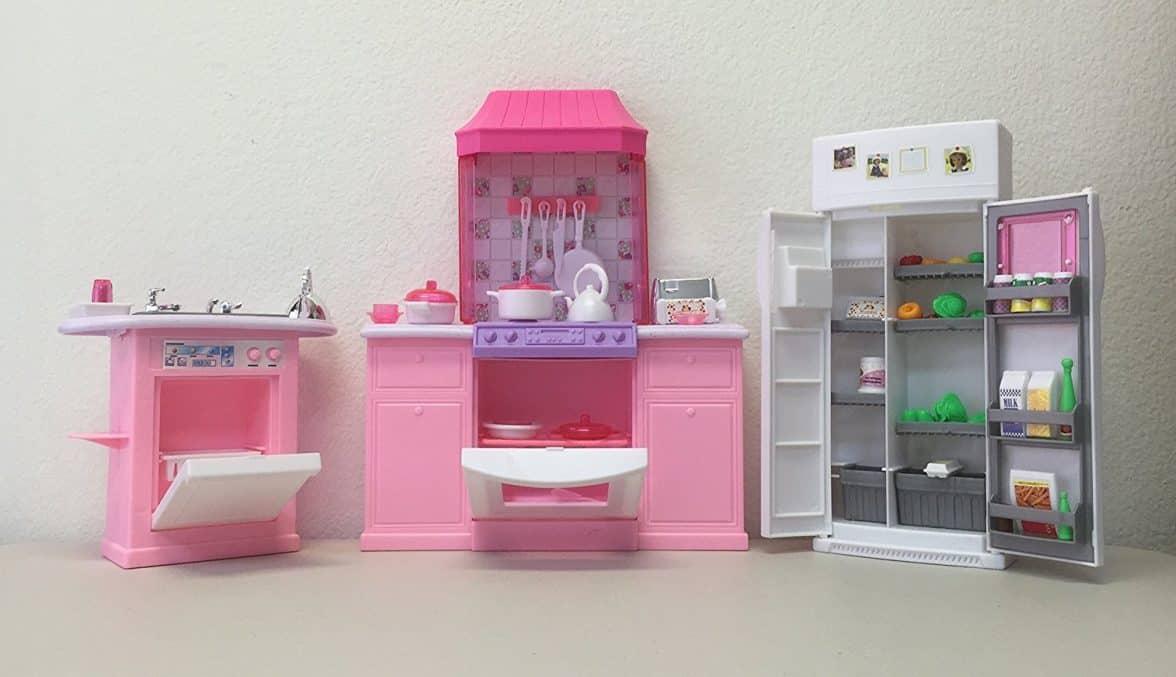 Barbie Size Dollhouse Furniture Kitchen Set Barbie Collectibles
