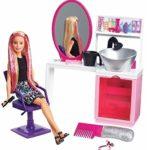 Barbie Sparkle Style Salon & Blonde Doll Playset