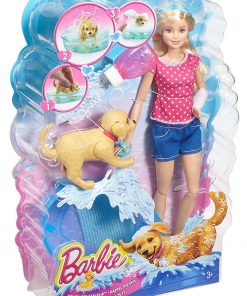 Barbie Splish Splash Pup Playset