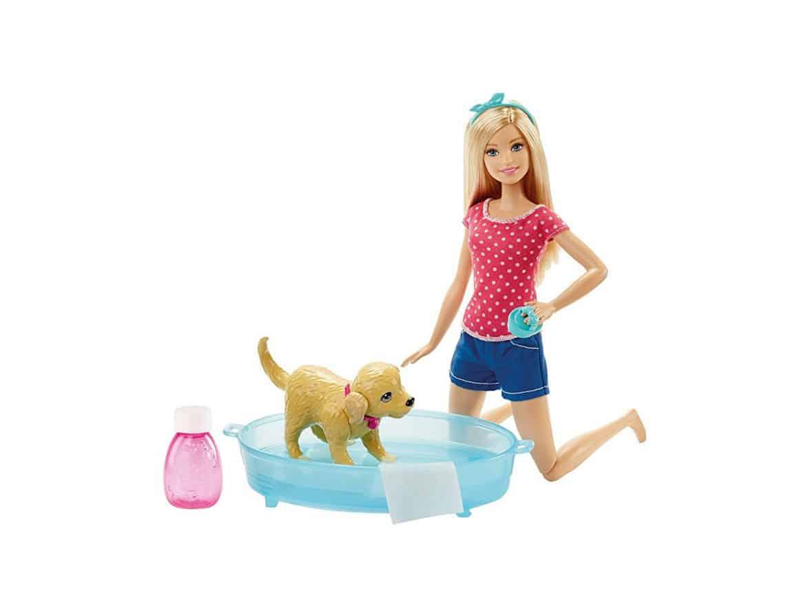 Barbie Splish Splash Pup Playset Barbie Collectibles