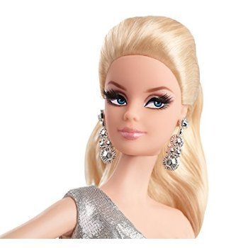 Barbie-The-Look-Silver-Dress-Doll-Toy-Barbie-dolls-Figyia